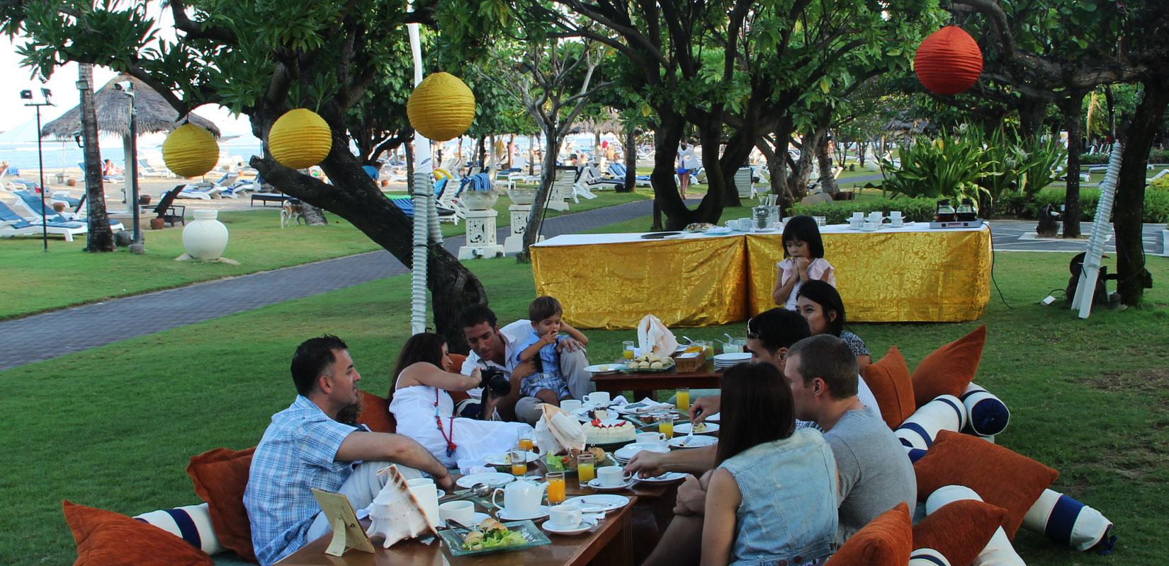 Forfait Réunion et famille a Bali