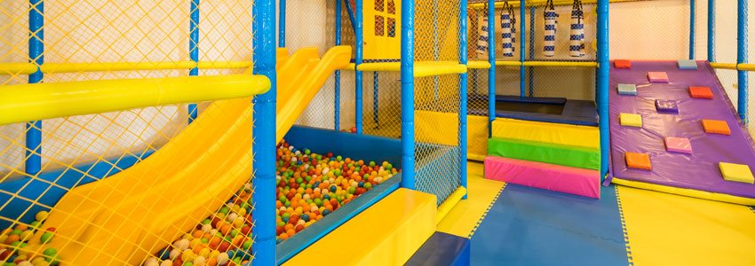 Bali resort Ball Pit at Family Paradise, specially designed for Kids' activity at Grand Mirage Bali
