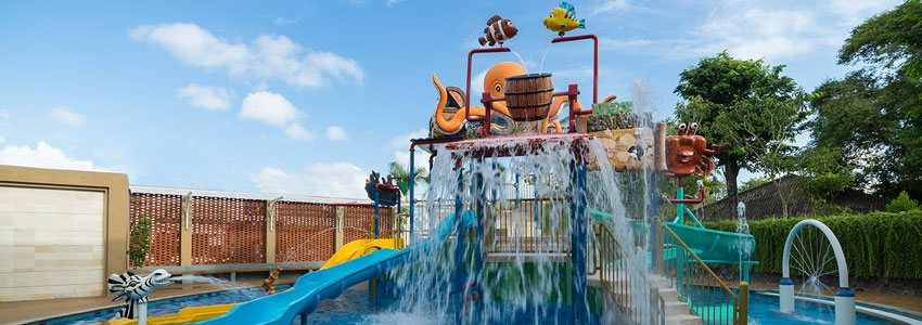 Splash around Mini Water Park