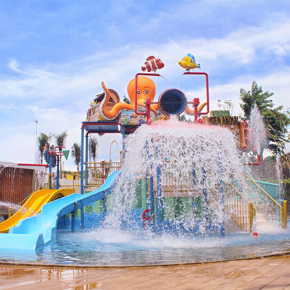 Mini Water Park for Kids  activity is provided at Family Paradise