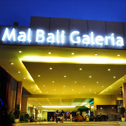 Mall Bali Galeria Shopping destination around Grand Mirage Resort, Shopping venue activities Kuta area