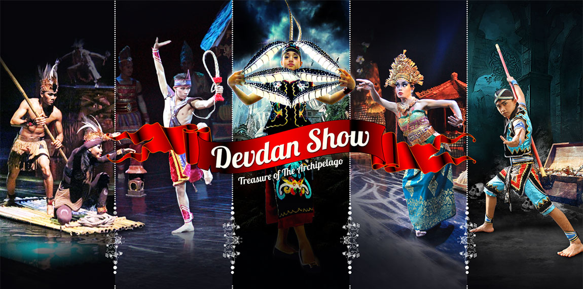 Devdan Show located at the Bali Nusa Dua Theatre