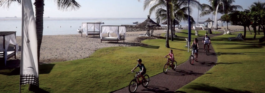 bali activities, Bicycle tour at Grand Mirage Resort