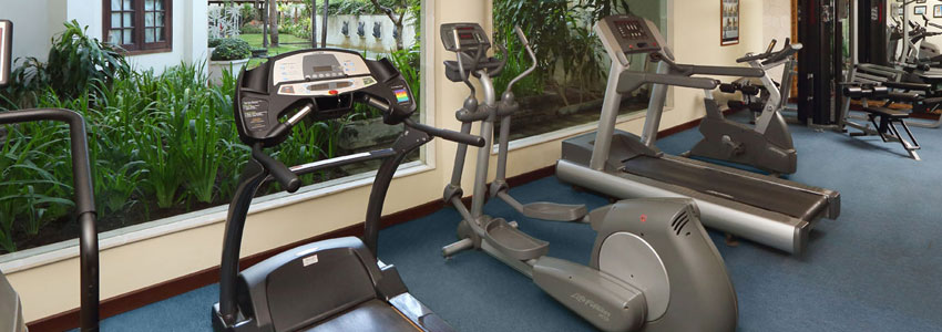 Grand Mirage Resort bali gym facility with state of the art equipment