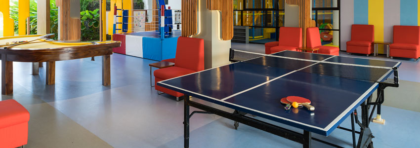 Table Tennis at the Kids Club