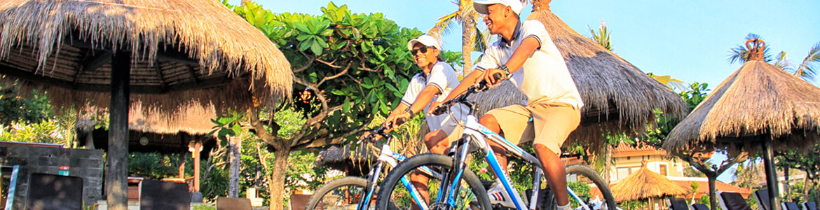 cykling activites, resort activity included in all-inclusive package