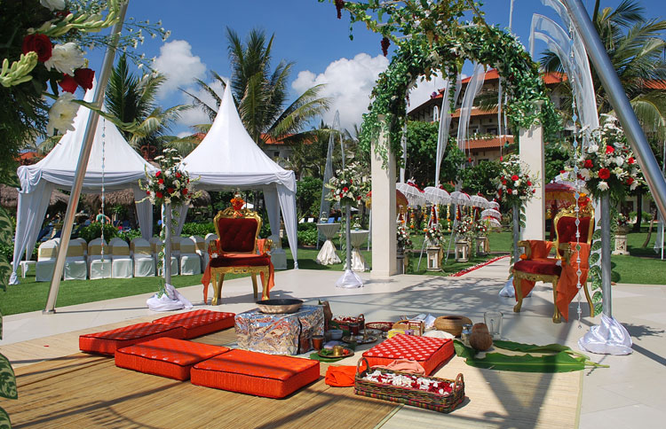 Indian Style Wedding In Bali At Grand Mirage Bali Hotel