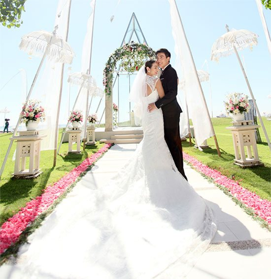 Bali Wedding Venue, Remarkable wedding at Grand Mirage Resort