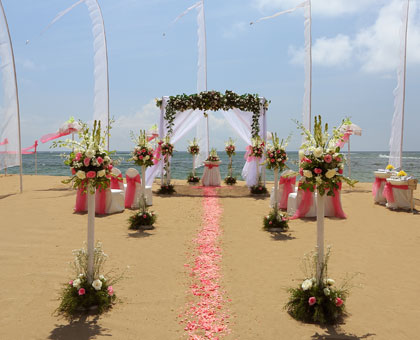 Remarkable wedding at Grand Mirage Resort