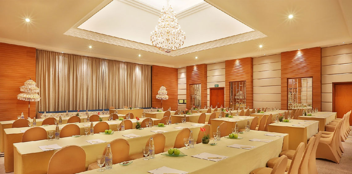 Grand Mirage main ball room meeting venue, Cater for your memorable and successful event, Grand Mirage provides state of the art facilities